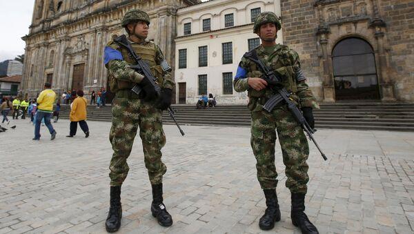 Soldados colombianos - Sputnik Mundo
