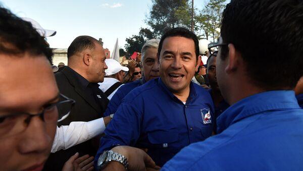 Jimmy Morales, candidato a la presidencia de Guatemala - Sputnik Mundo