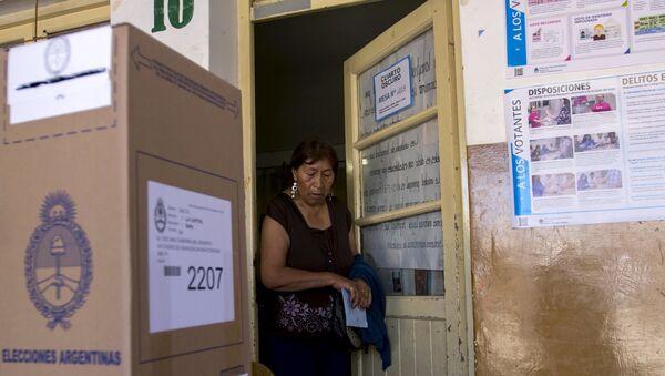 Cierran las urnas en Argentina en total normalidad - Sputnik Mundo
