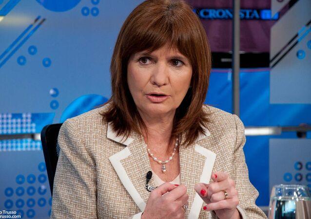 Patricia Bullrich, ministra de Seguridad argentina (archivo)