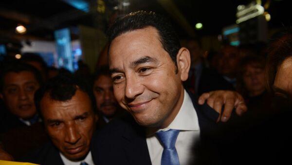 Jimmy Morales, candidato a la presidencia en Guatemala - Sputnik Mundo