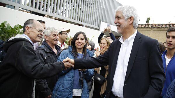 Enrique Peñalosa, el alcalde de Bogotá, Colombia - Sputnik Mundo