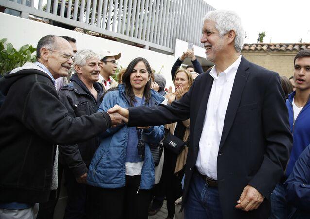 Enrique Peñalosa, el alcalde de Bogotá, Colombia