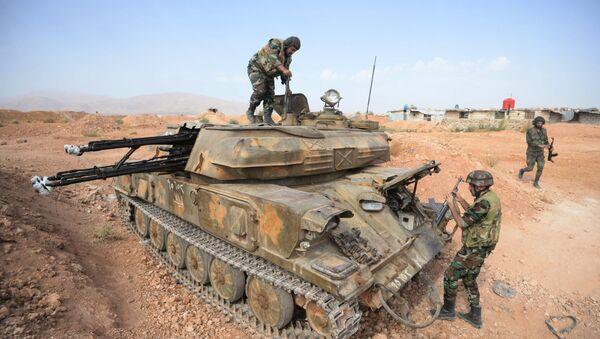 Ejército sirio - Sputnik Mundo