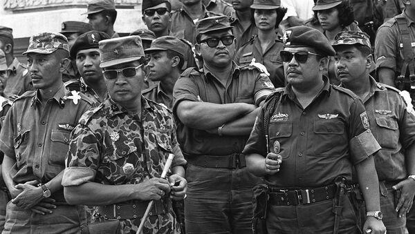 General Suharto - Sputnik Mundo