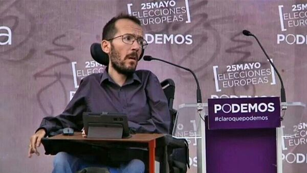 Pablo Echenique, secretario general de Podemos en Aragón - Sputnik Mundo