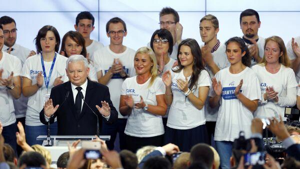 Jaroslaw Kaczynski, líder del partido conservador Ley y Justicia - Sputnik Mundo