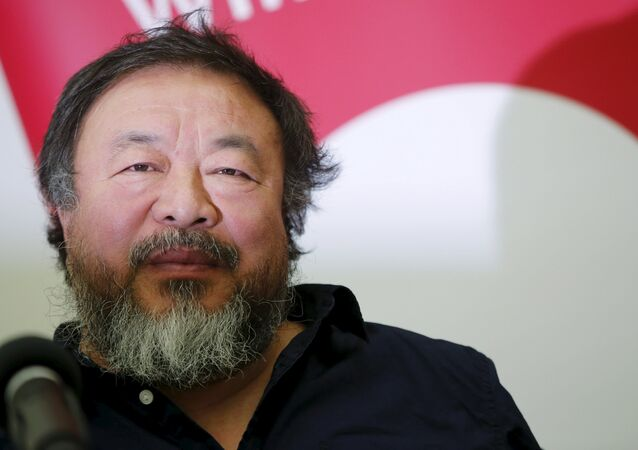 Chinese artist and free-speech advocate Ai Weiwei