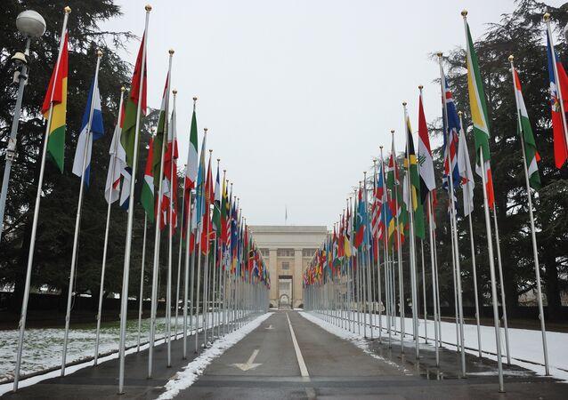 La sede de la ONU en Ginebra