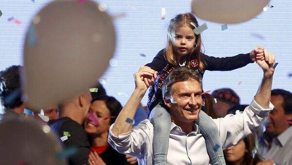 Mauricio Macri, candidato presidencial en Argentina - Sputnik Mundo