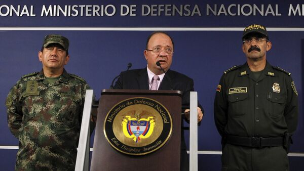 Luis Carlos Villegas, ministro de Defensa de Colombia - Sputnik Mundo