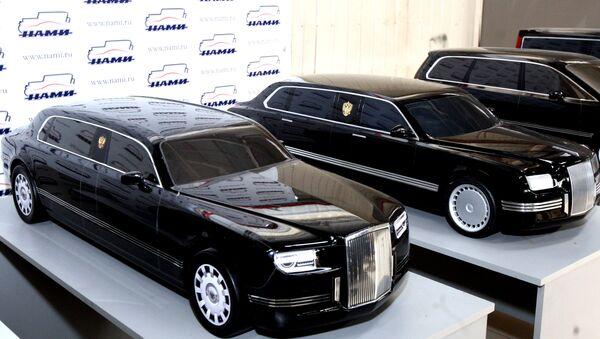 Modelos de limusinas para altos dirigentes rusos - Sputnik Mundo