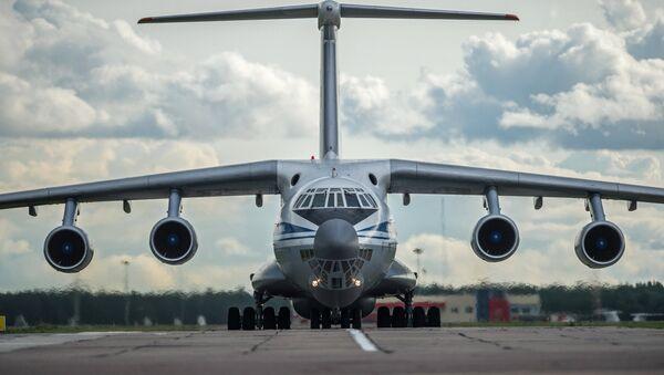 Avión Il-76 ruso - Sputnik Mundo