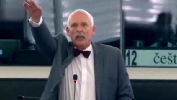 Janusz Korwin-Mikke, político polaco, miembro del Parlamento Europeo - Sputnik Mundo