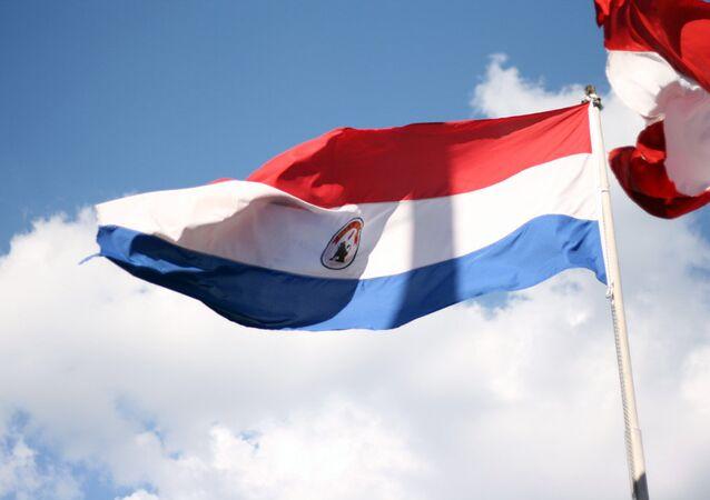 Bandera de Paraguay (archivo)