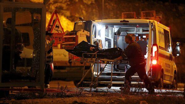 Un soldado herido y tres palestinos muertos en los últimos ataques cerca de Hebrón - Sputnik Mundo