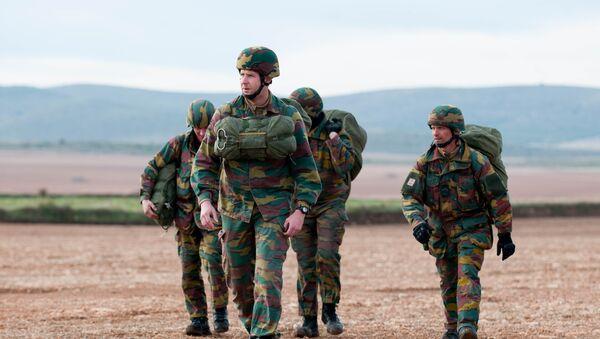 Maniobras de la OTAN Trident Juncture 2015 - Sputnik Mundo