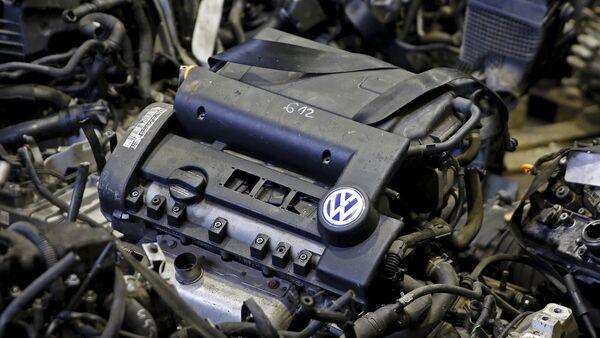 Motor diésel de Volkswagen - Sputnik Mundo
