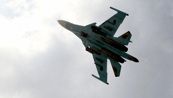 Avión de las Fuerzas Aeroespaciales de Rusia en Siria - Sputnik Mundo