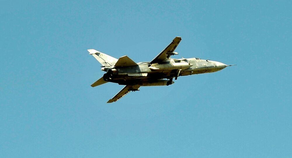 Bombardero ruso Sukhoi Su-24