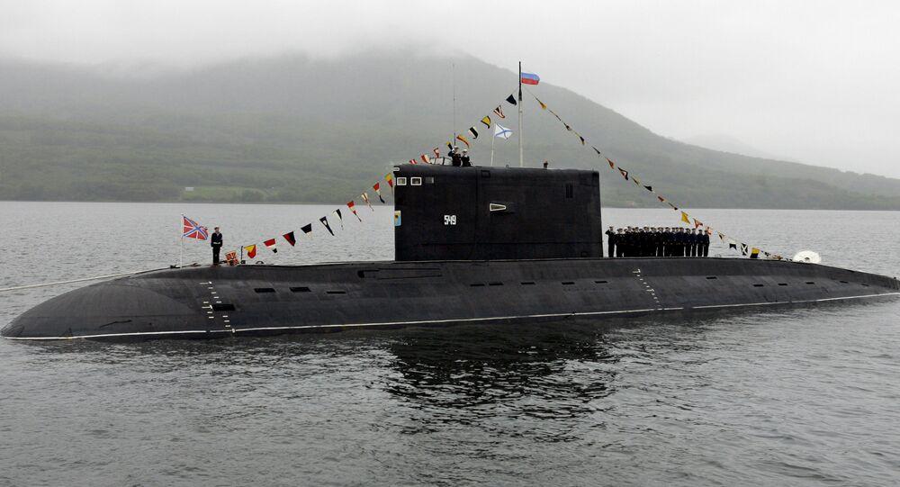 Submarino ruso (imagen referencial)