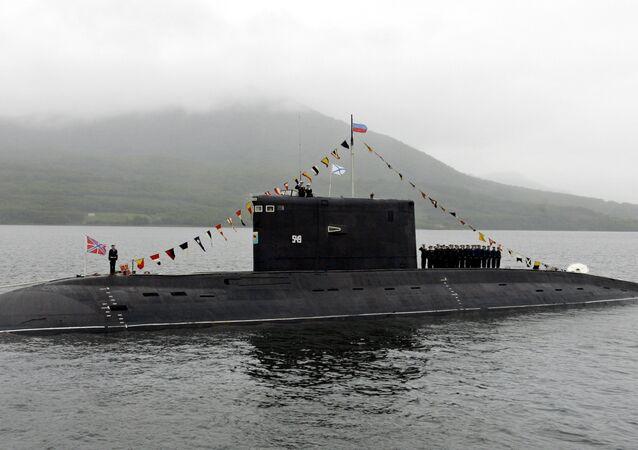 Submarino ruso del proyecto 877 Paltus
