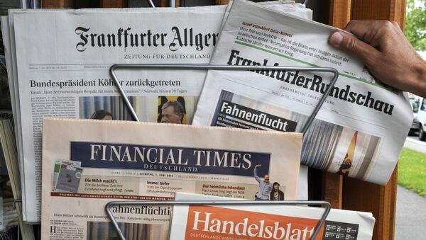 Periódicos alemanes - Sputnik Mundo