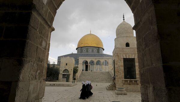 Cúpula de la Roca en la Explanada de las Mezquitas de Jerusalén - Sputnik Mundo