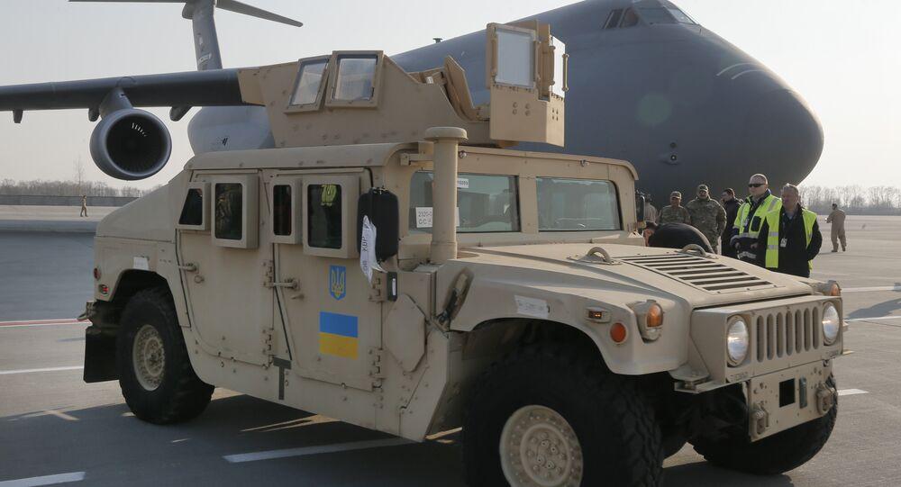 Ayuda militar de EEUU a Ucrania (archivo)