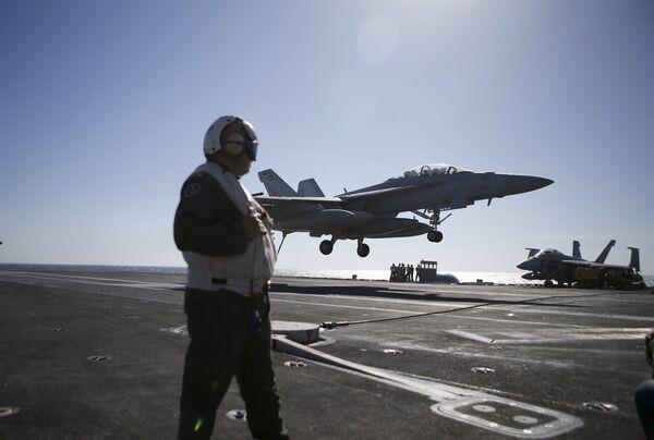Ejercicios navales de EEUU y Corea del Sur - Sputnik Mundo
