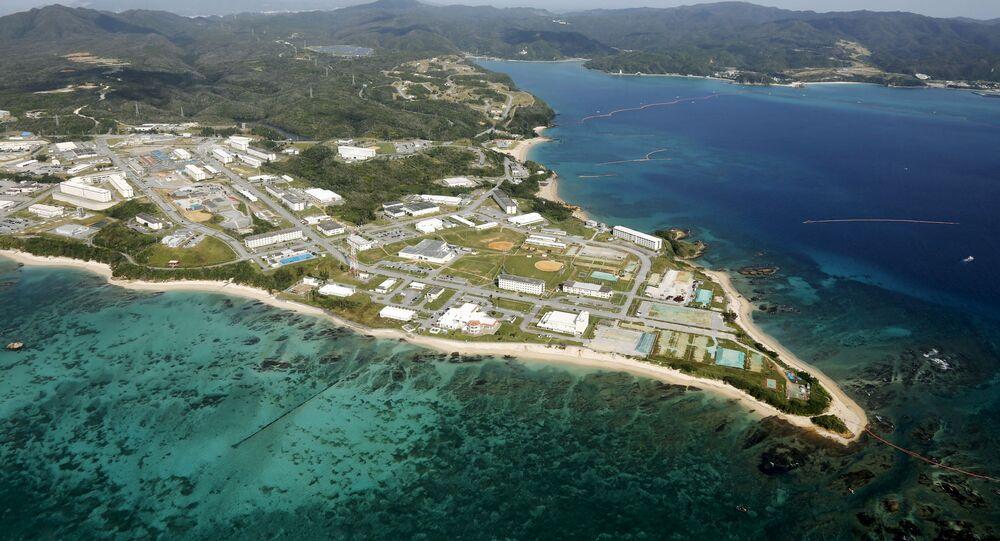 Base estadounidense en Okinawa, Japón (archivo)