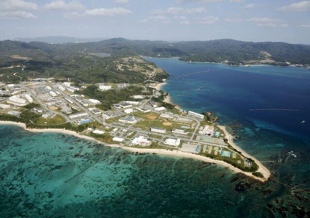 Base militar Campo Schwab en Okinawa