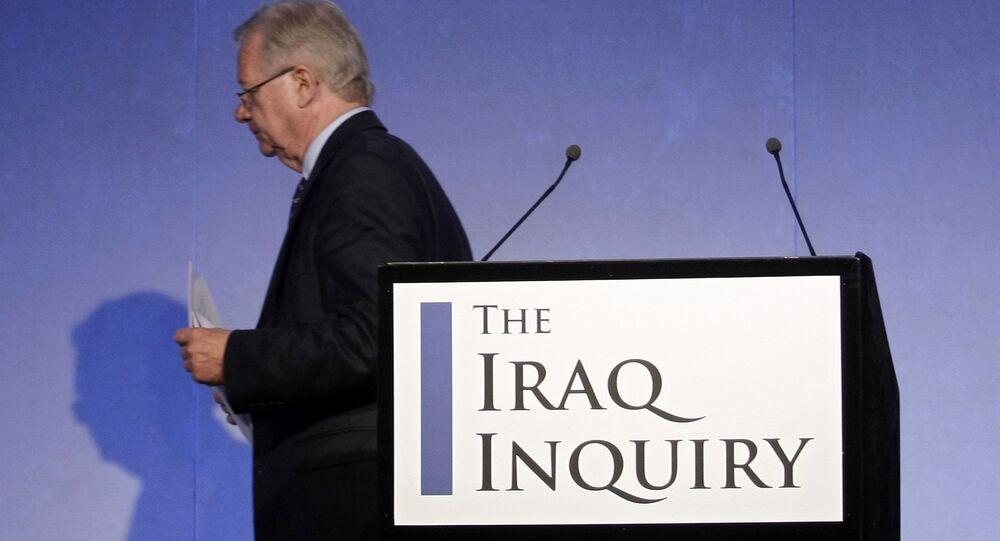 John Chilcot, presidente de investigación sobre la guerra de Irak