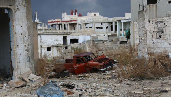 Situación en Hama (archivo) - Sputnik Mundo