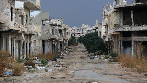 Ситуация в городе Мурек в сирийской провинции Хама  - Sputnik Mundo