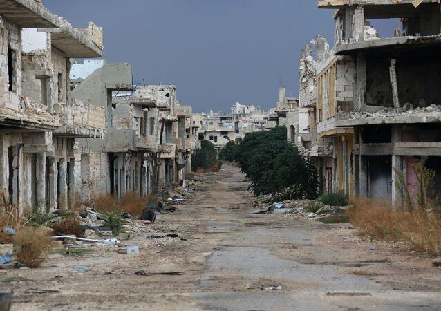 Situación en la provincia siria de Hama (Archivo)