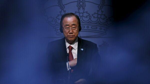 Ban Ki-moon - Sputnik Mundo