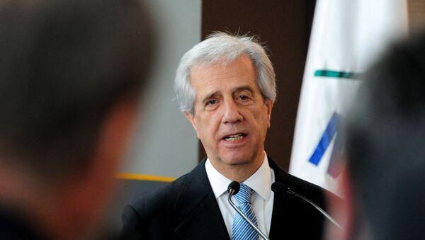Tabaré Vázquez, presidente de Uruguay - Sputnik Mundo