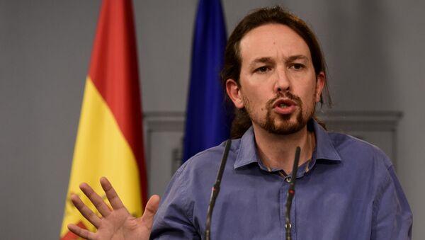 Pablo Iglesias, el secretario general de Podemos - Sputnik Mundo