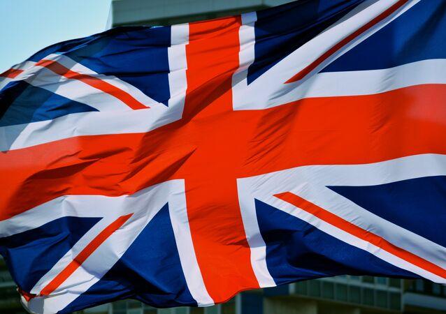 La bandera de Gran Bretaña