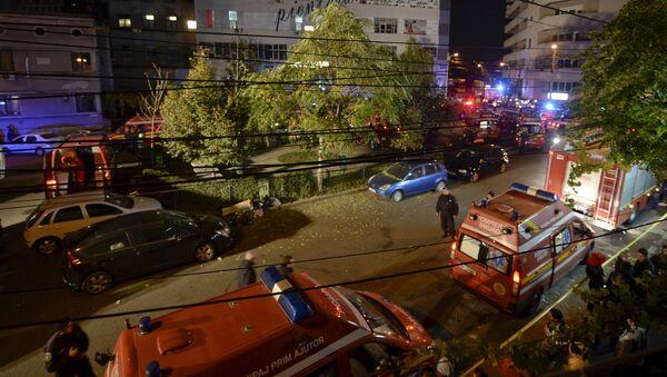 Al menos 25 muertos por explosión en un club de Bucarest - Sputnik Mundo