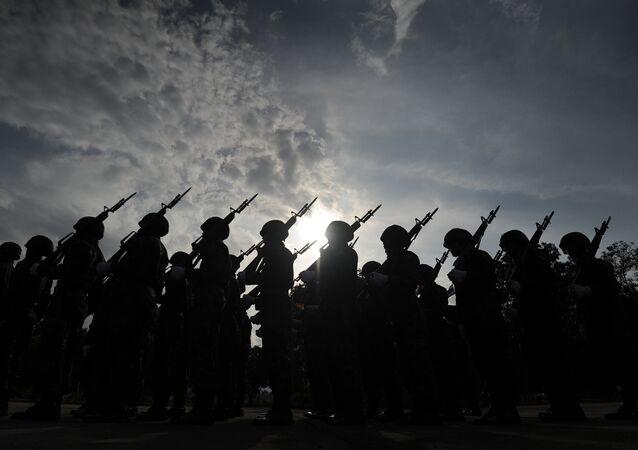 Soldados del Ejército de Tailandia (archivo)