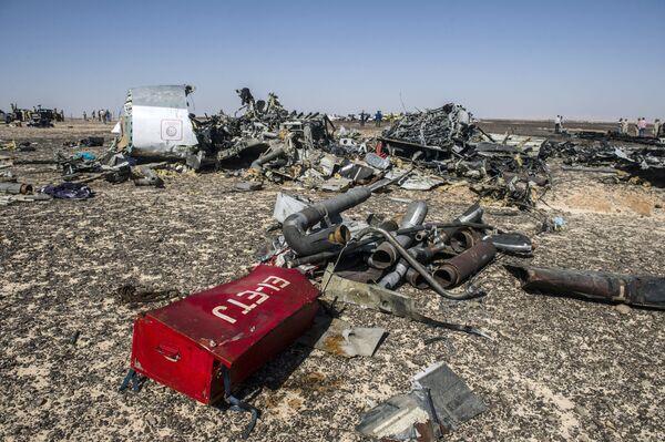 Accidente del avión ruso en Egipto - Sputnik Mundo