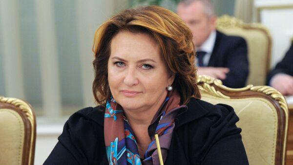 Elena Skrinnik, exministra rusa de agricultura - Sputnik Mundo
