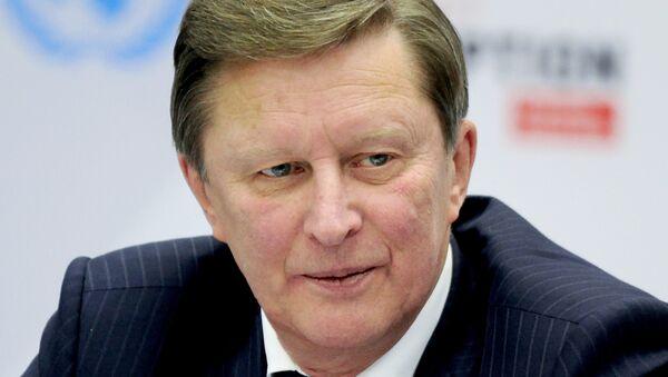 Serguéi Ivanov, jefe de la Administración del presidente de Rusia - Sputnik Mundo