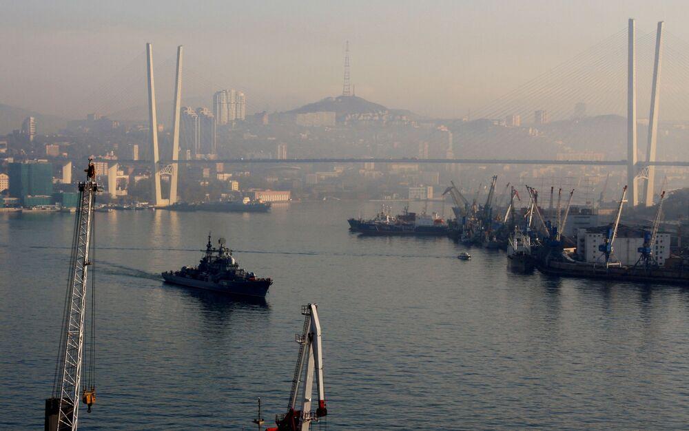 Buques de guerra de Rusia ponen rumbo al océano Índico