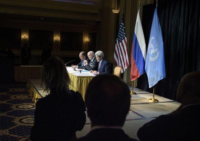 Consultas sobre Siria en Viena en octubre de 2015