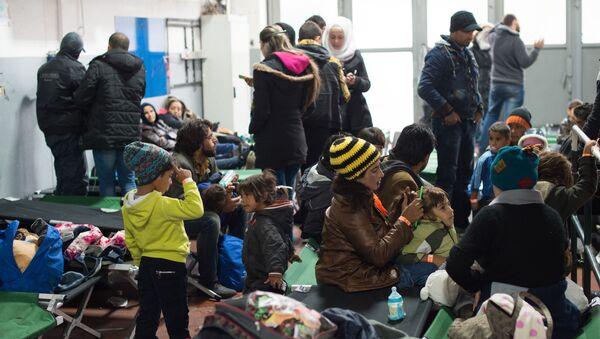 Refugiados en un asilo en Passau, Alemania (Archivo) - Sputnik Mundo