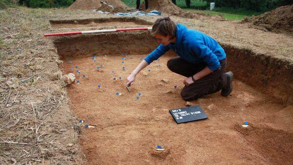 Les Varines, sitio arqueológico en Jersey - Sputnik Mundo