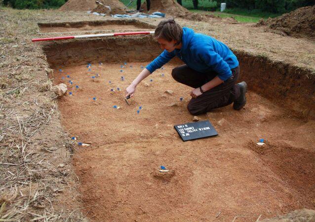 Les Varines, sitio arqueológico en Jersey
